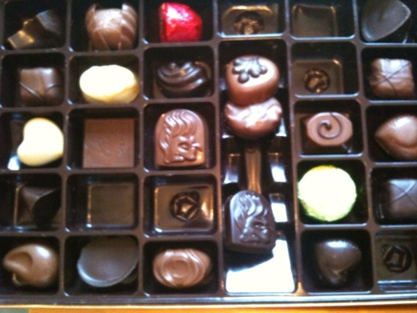 Box of Chocolates for National Chocolate Day