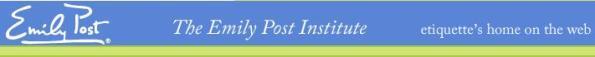 emily post institute